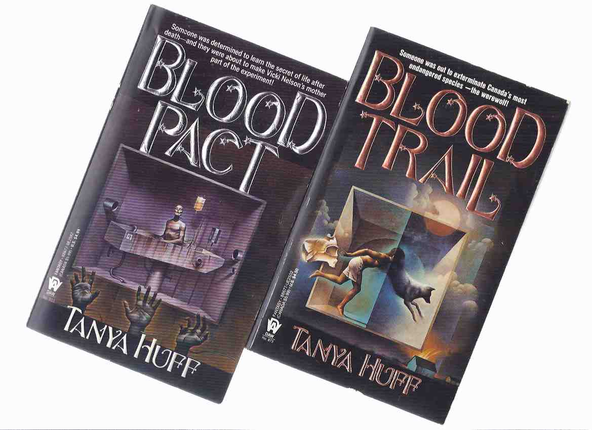Image for Blood Price ---with Blood Trail ---with Blood Lines ---with Blood Pact ---book 1, 2, 3, 4 --- 4 Volumes ---the Victoria Nelson Series (basis for the TV Series Blood Ties )  ( Signed )