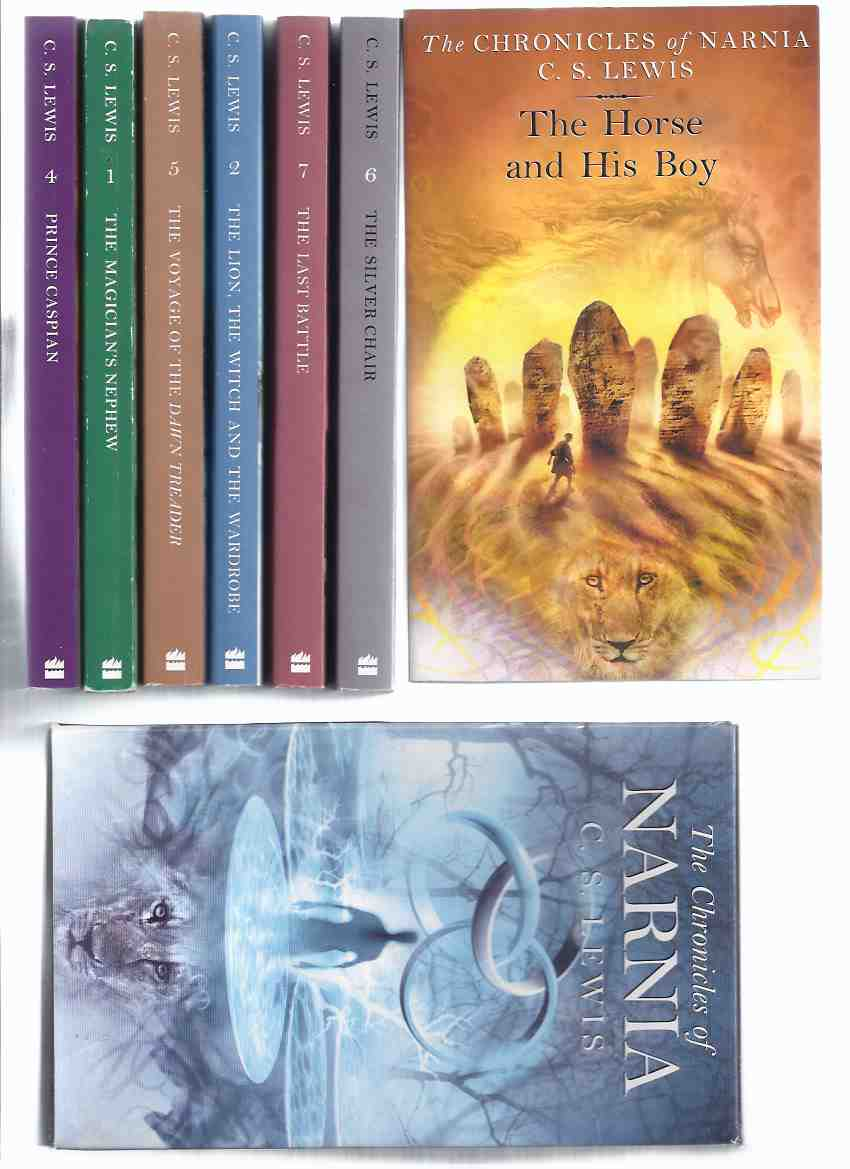 Image for C S LEWIS - Narnia Chronicles: The Lion, the Witch & the Wardrobe - Prince Caspian - Voyage of the Dawn Treader - Silver Chair -The Horse & His Boy - Magician's Nephew - Last Battle --- Seven Volumes in a Slipcase ( Boxed Set )( Book 1 2 3 4 5 6 7 )
