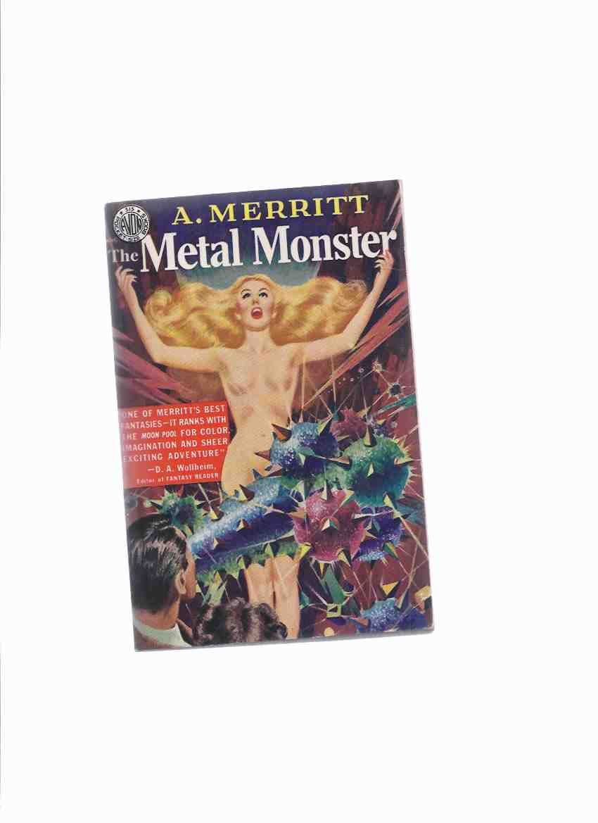 Image for The Metal Monster -by A Merritt (vintage Avon paperback)