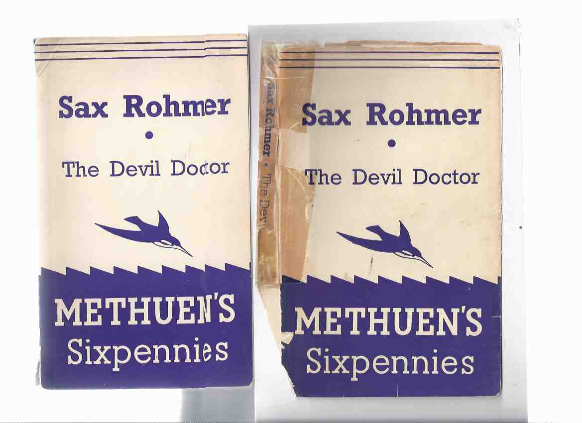 Image for The Devil Doctor -by Sax Rohmer -METHUEN SIXPENNIES Series (aka The Return of Dr Fu-Manchu )( Paperback in Dustjacket )