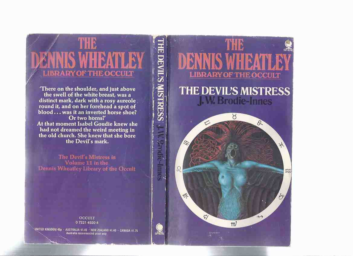 Image for The Devil's Mistress:  Volume 11 in the Dennis Wheatley Library of the Occult