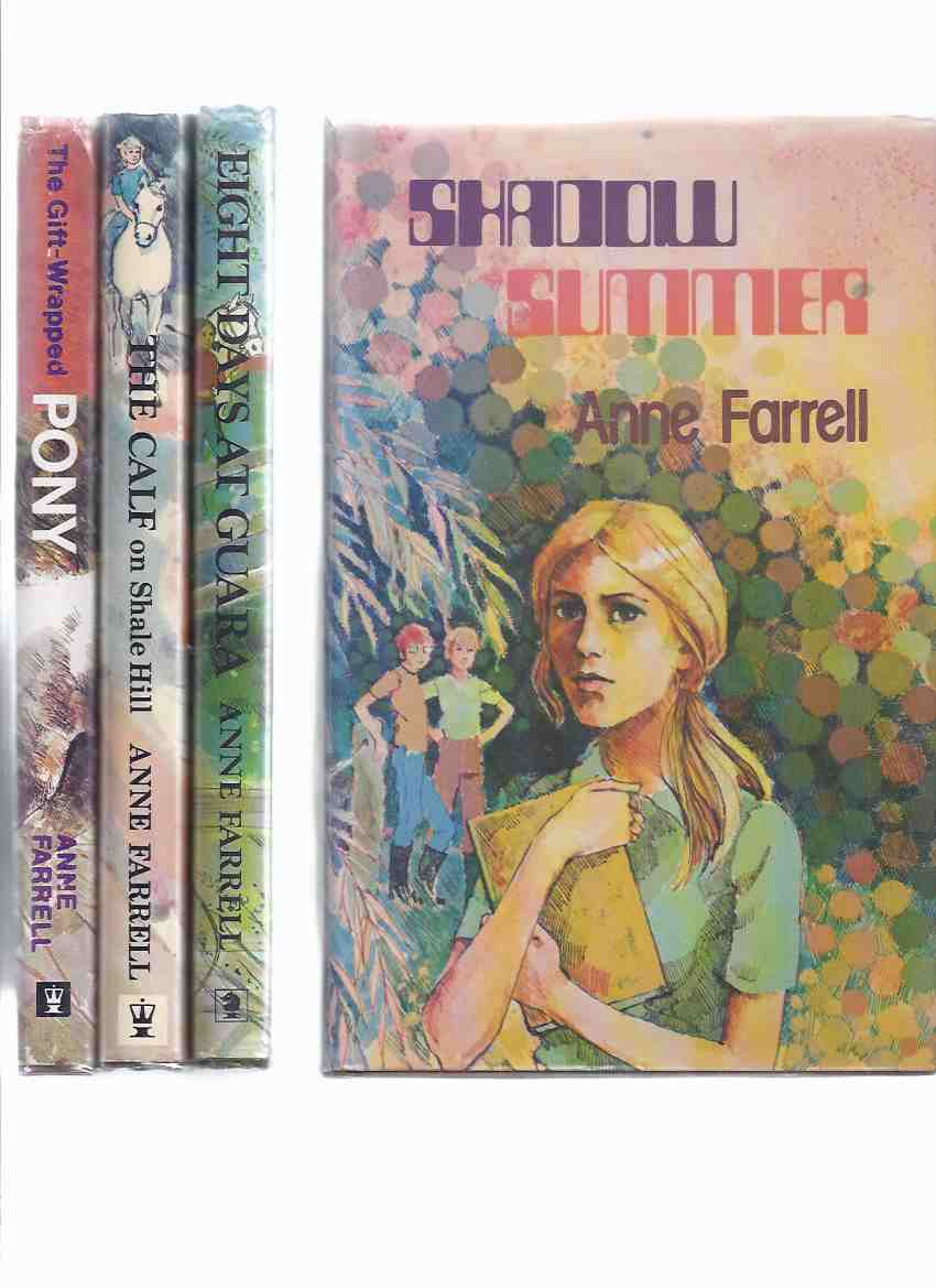 Image for The Mitchell Family Series:  The Gift Wrapped Pony; The Calf on Shale Hill; Eight Days at Guara; Shadow Summer -BOOKS 1, 2, 3 and 4 -FOUR VOLUMES -by Anne Farrell