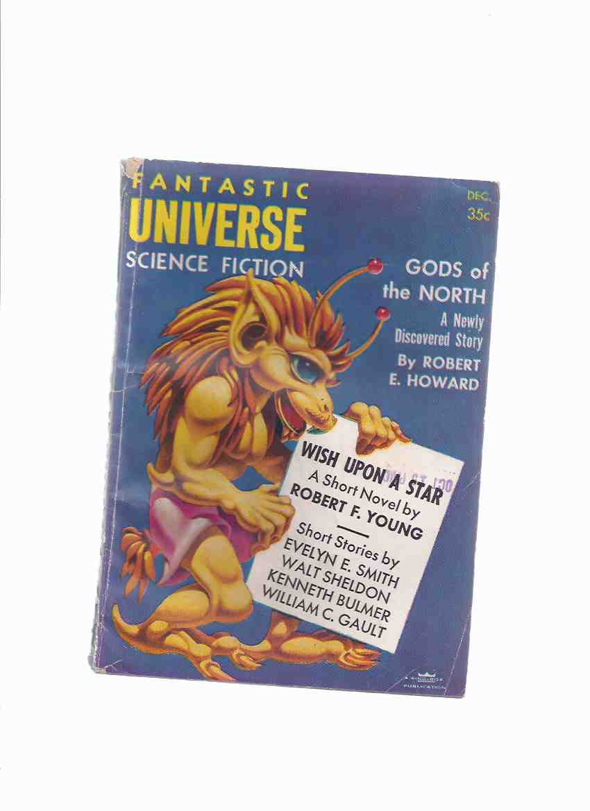 Image for Fantastic Universe ( SF Digest Pulp ) Magazine, December 1956, Volume 6, # 5 ( Wish Upon Star; Mr Replogle's Dream; Gods North; Their Dreams Remain; One Touch of Terra; Satellite Keeper's Daughter; Shrine; Travelogue; Title Fight )( Science Fiction )