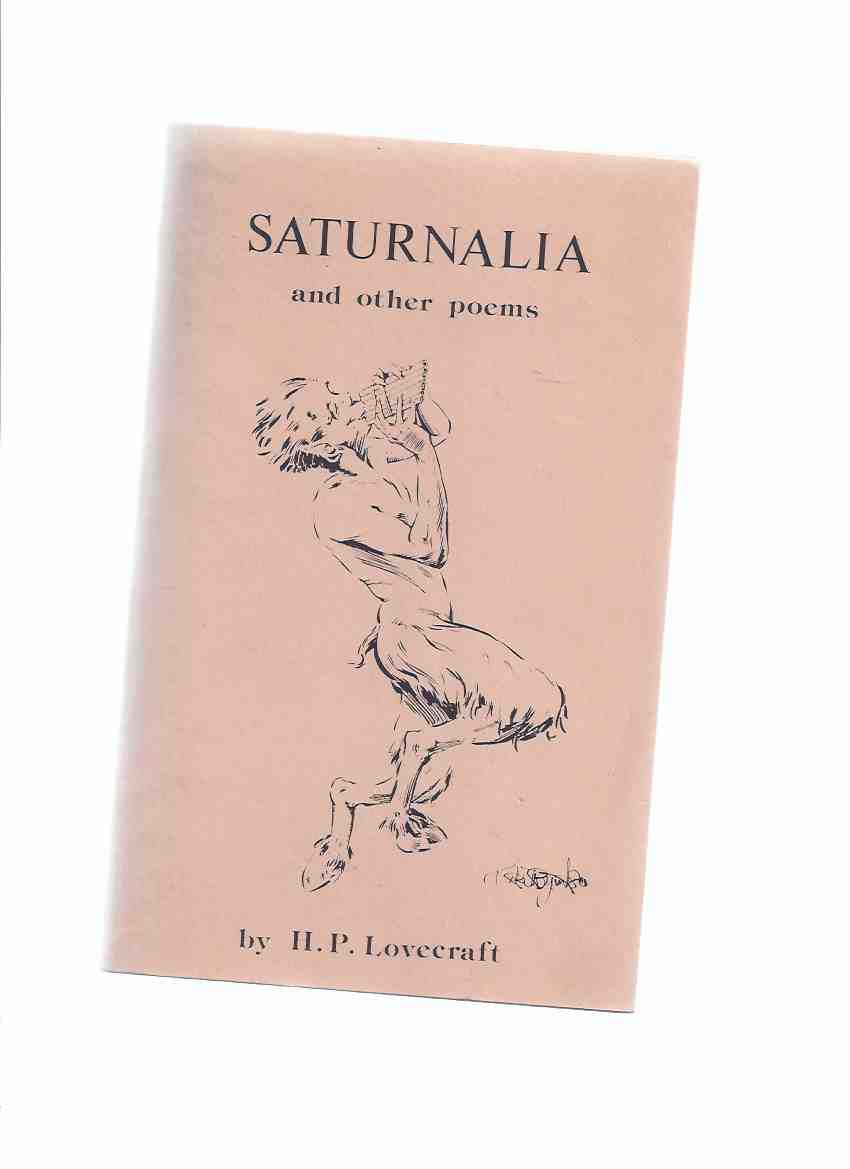 Image for Saturnalia and Other Poems:  Crypt of Cthulhu Volume 3, # 5, Whole # 21, Eastertide 1984 -by H P Lovecraft