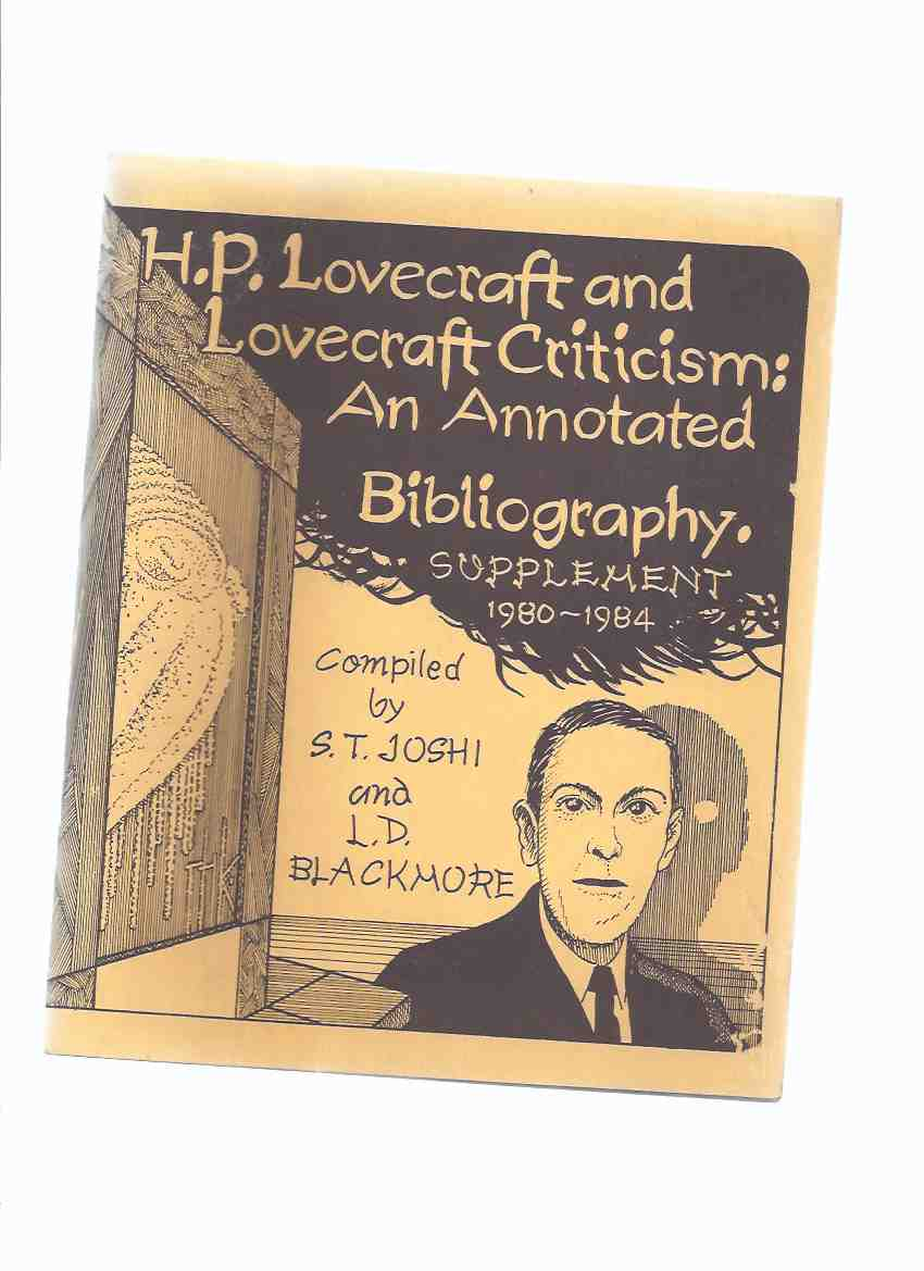 Image for H P Lovecraft and Lovecraft Criticism:  An Annotated Bibliography, Supplement 1980 - 1984 / Necronomicon Press