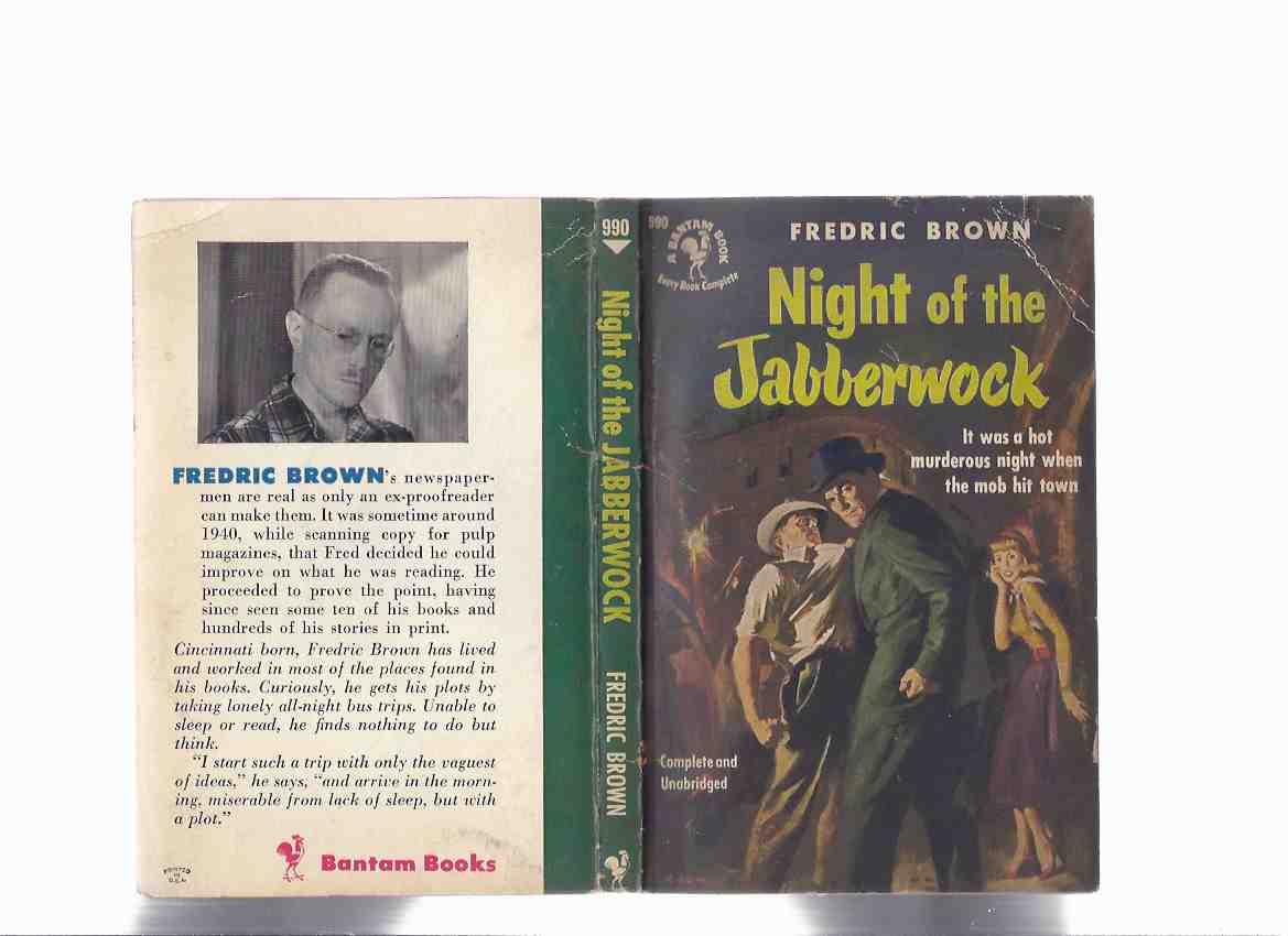 Image for Night of the Jabberwock -by Fredric Brown