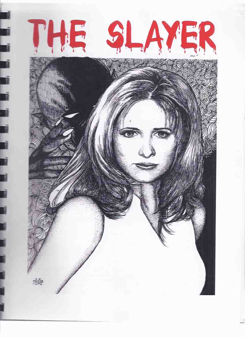 Image for THE SLAYER:  A Buffy the Vampire Slayer Fanzine ( Sarah Michelle Gellar Cover Art )