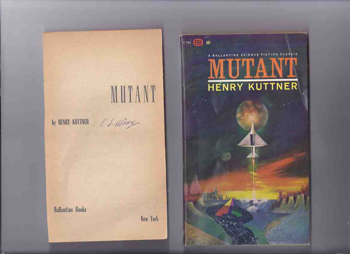 Image for Mutant -by Henry Kuttner (and C L Moore -Tipped-in Signature)