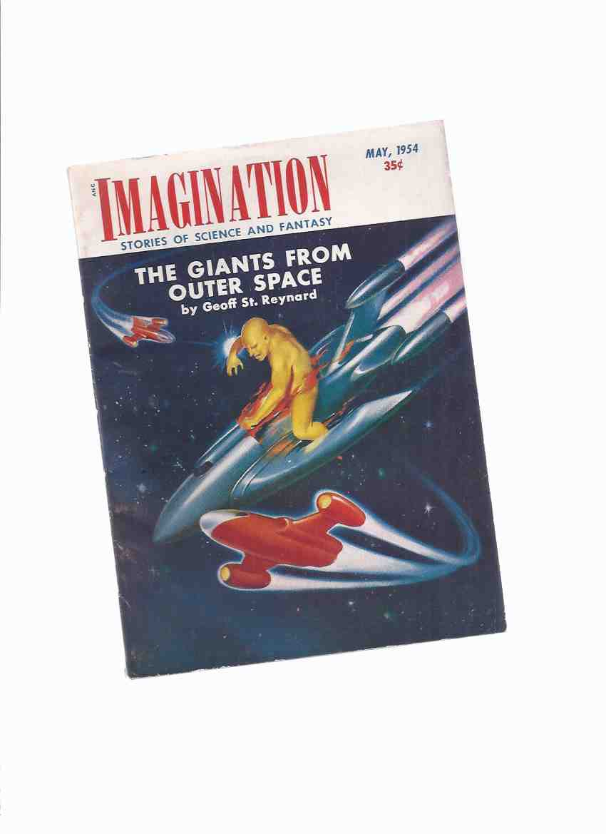 Image for Imagination:  Stories of Science and Fantasy, May 1954, Volume 5, # 5 ( Inc: Giants from Outer Space; Off Limits Planet; Cosmic Santa Claus; Prelude to Space; Cancer World; Spies Die Hard )(SF / Fiction Digest )