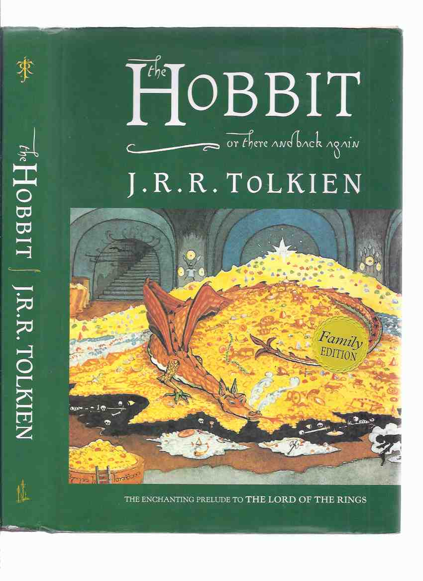 Image for The Hobbit or, There and Back Again -by J R R Tolkien -a LARGE PRINT EDITION -Unabridged ( Smaug Cover Art By JRRT