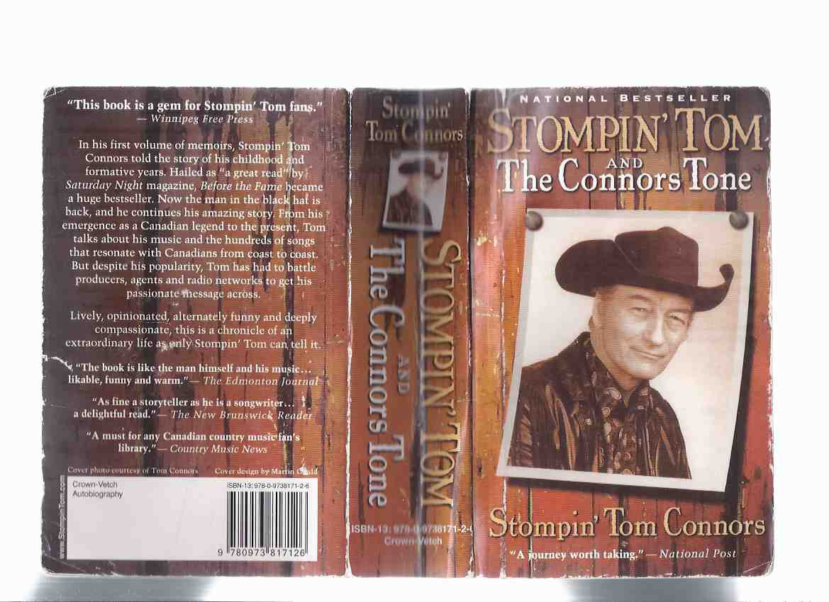 Image for Stompin' Tom Connors:  The Connors Tone -a Signed Copy  ( Stomping )