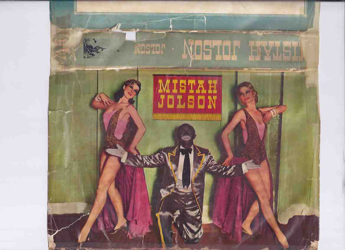 Image for Mistah Jolson as Told to Alban Emley By Harry Jolson ( Brother of Al Jolson )( Vaudeville related)
