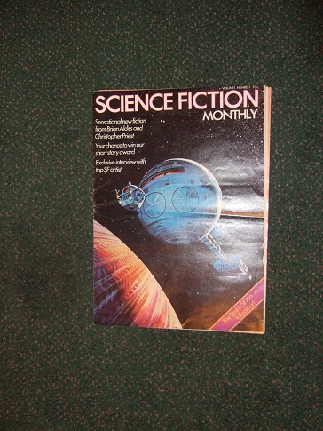 Image for Science Fiction Monthly, Volume 1, # 1 (includes:  Melancholia Has a Plastic Core; A Woman Naked; Excerpt from Lucky Starr and the Planets of the Asteroid; etc)