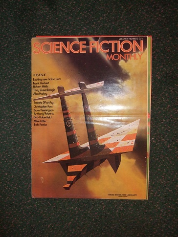Image for Science Fiction Monthly, Volume 1, # 2 (includes:  Excerpt from The Godmakers; The Tree in the Forest; Blue Theme and Fugue; The Seeds of Time; The Artist in SF - Chris Foss; Vicious Circle; etc)