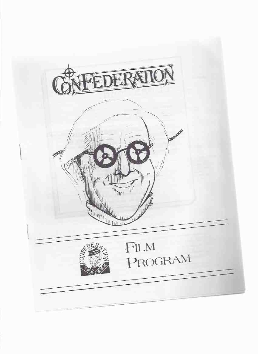 Image for CONFederation Film Program, 1986 ( WorldCon SF / Science Fiction Fantasy Convention )(article By Linaweaver on RB; Ray Bradbury on Front Cover )