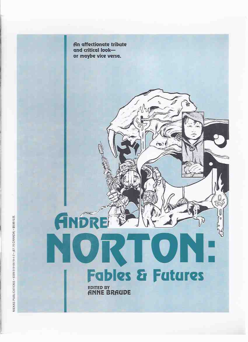 Image for ANDRE NORTON:  Fables and Futures / NIEKAS Science Fiction ( SF )  (inc.  The Weaving of The Witch World; Wondrous Worlds; Series and Sequels, the Problem Thereof; The Haunted Library; etc)