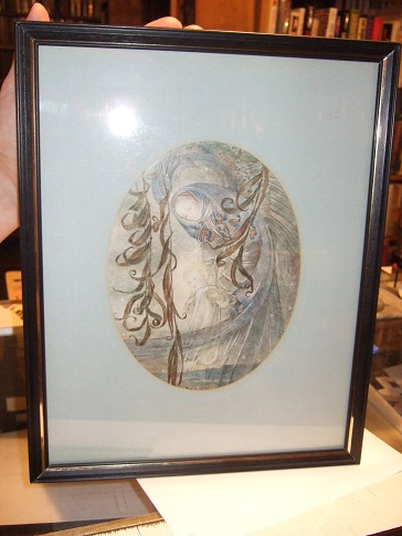 Image for FRAMED PRINT -The Guiding Hand -by Sulamith Wulfing ( Mother and Child / Madonna and Child )
