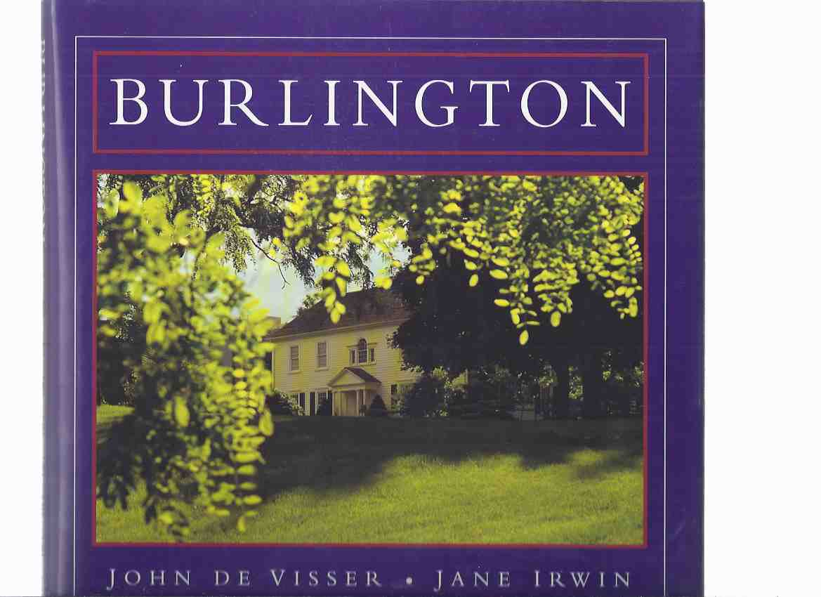 Image for Burlington -by John De Visser (signed) and Jane Irwin (signed) ( Ontario Local History )