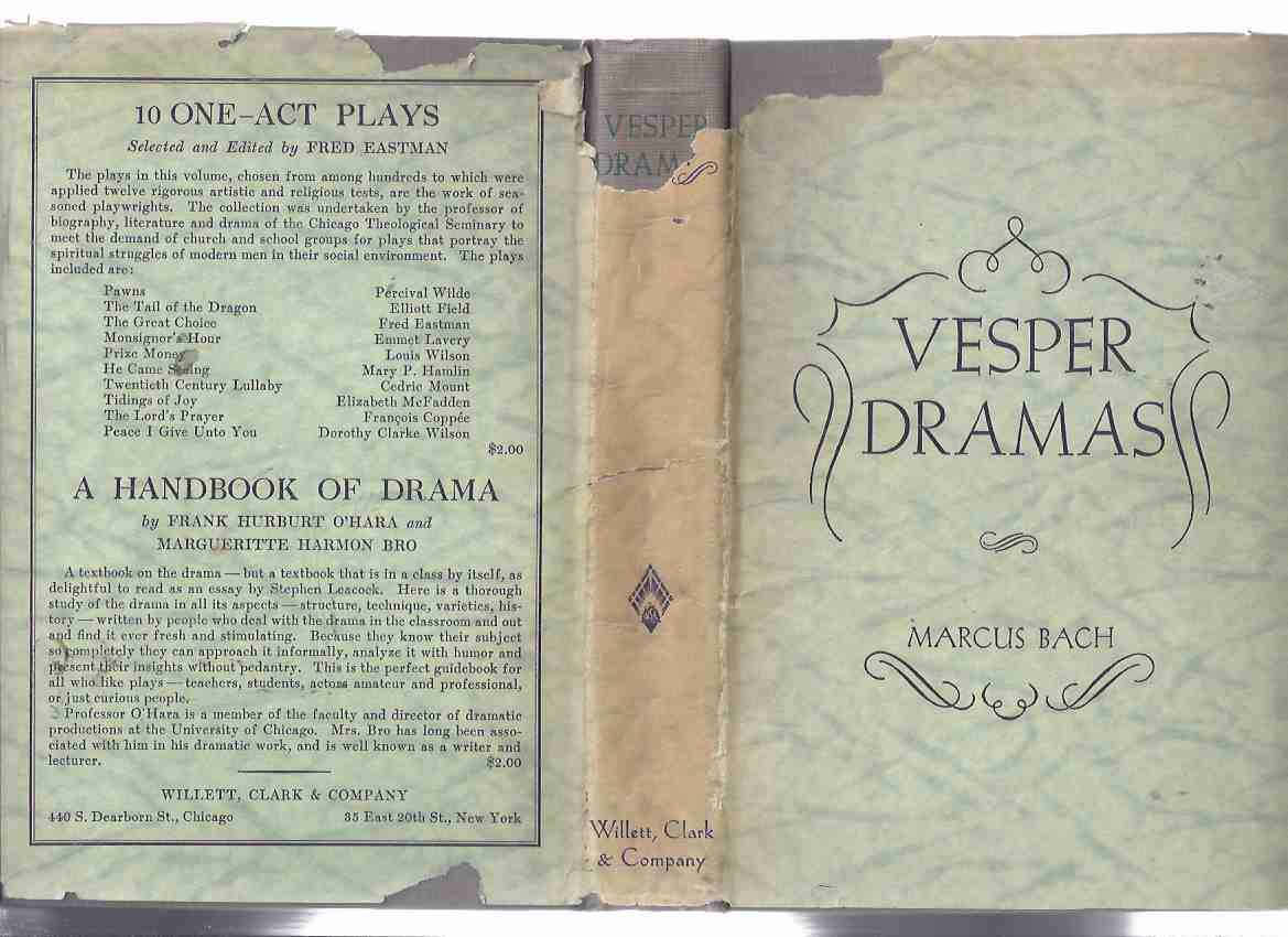 Image for Vesper Dramas with Worship Programs ---by Marcus Bach ( Plays )