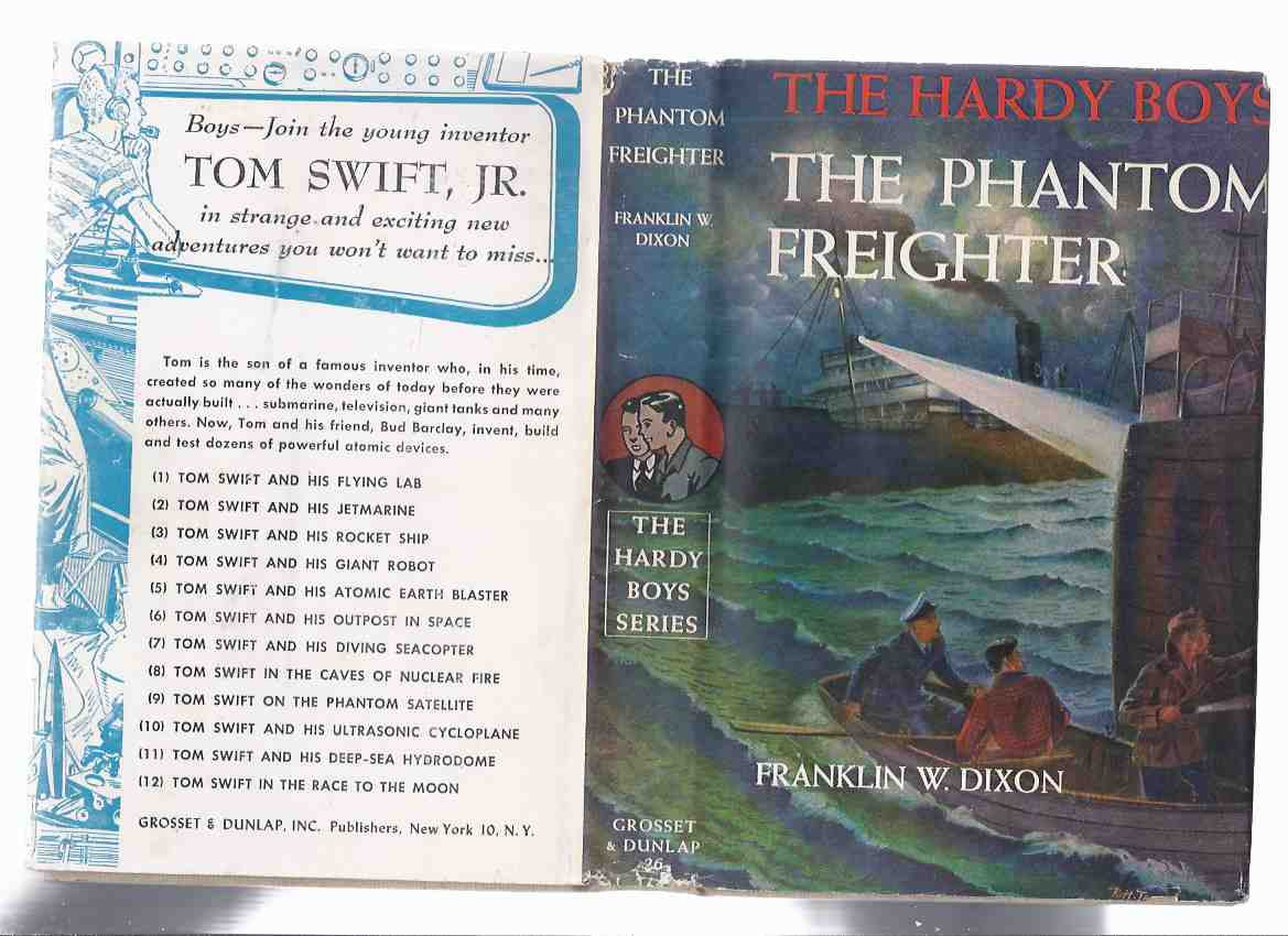 Image for The Phantom Freighter, # 26:  The Hardy Boys Mystery Series ( Grosset and Dunlap Edition in Dustjacket )