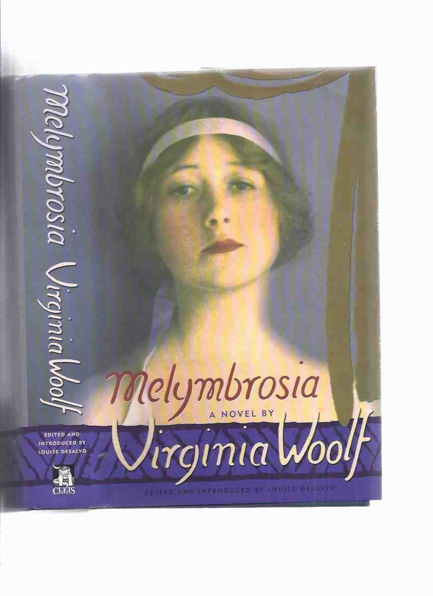 "Image for Melymbrosia ---by Virginia Woolf ( Revision of "" A Voyage Out "")"