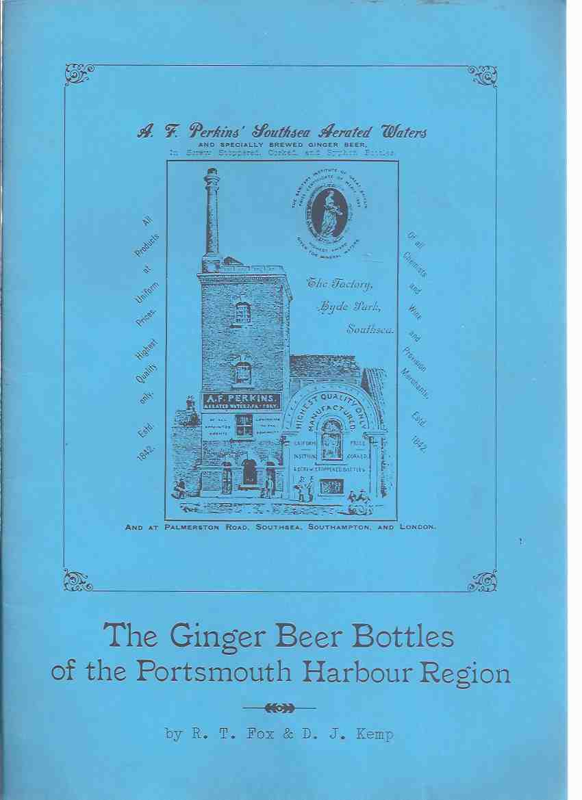 Image for The Ginger Beer Bottles of the Portsmouth Harbour Region  ( Stoneware Bottles )