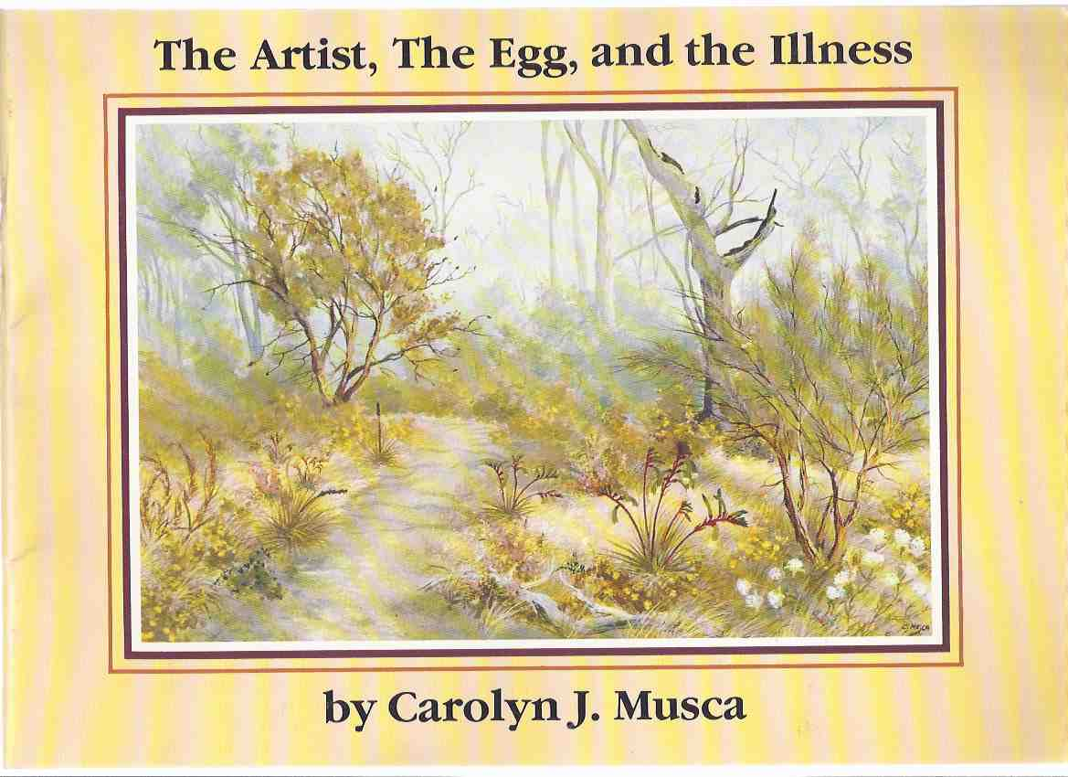 Image for The Artist, the Egg and the Illness -by Carolyn J Musca ( Egg Tempera / Australian Art / Artist / Australia )