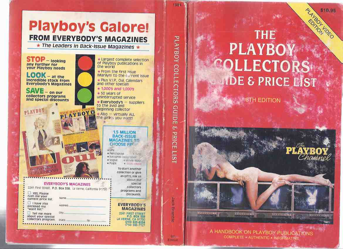 Image for The Playboy Collectors Guide and Price List, 1984 - 1985, 6th Edition (The Playboy Video Edition - SIXTH Ed.)( Playboy Magazines / Bibliography )