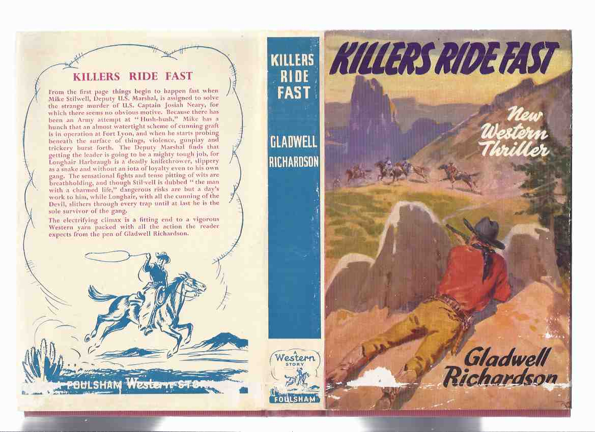 Image for Killers Ride Fast -by Gladwell Richardson - a Foulsham Western Story