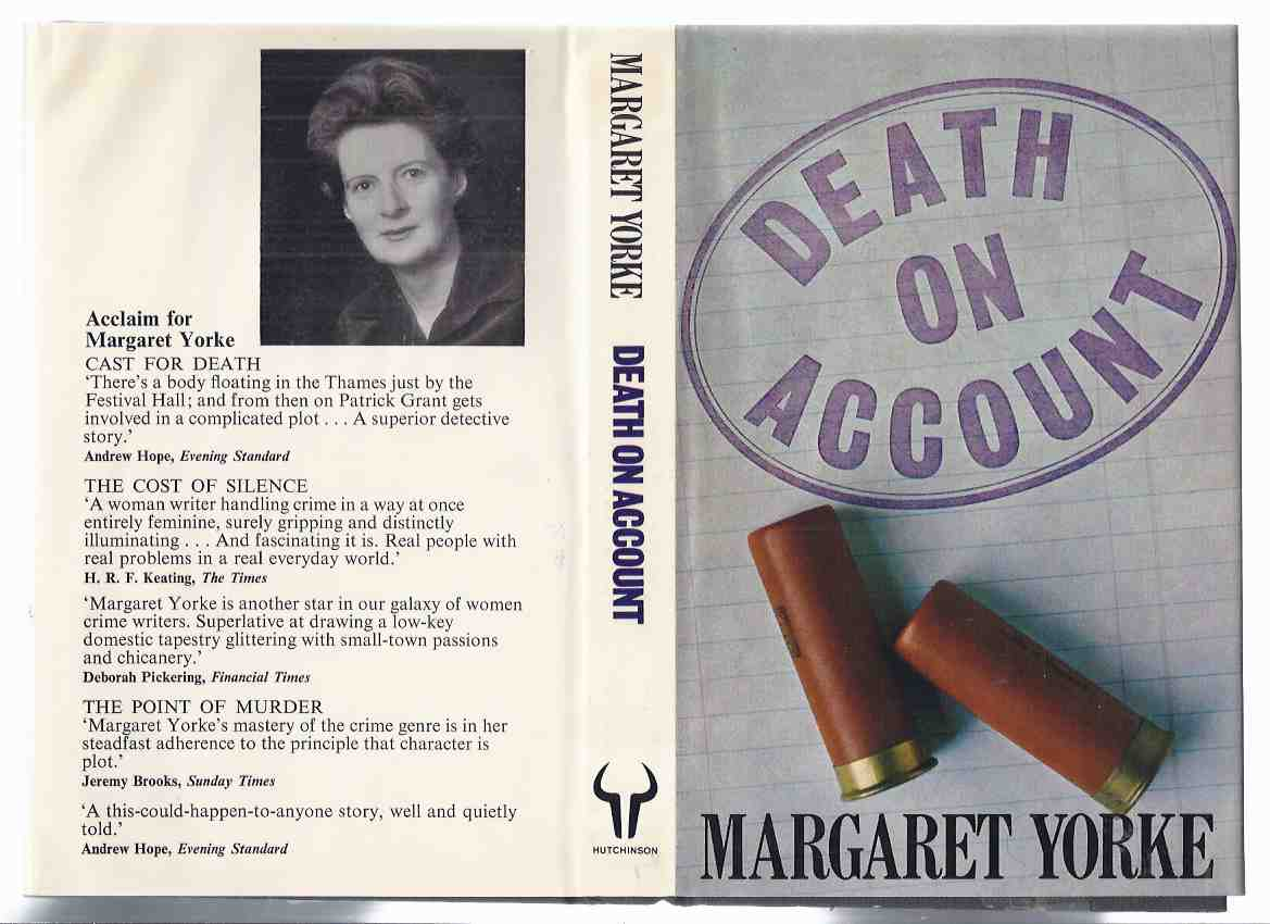 Image for Death on Account -by Margaret Yorke