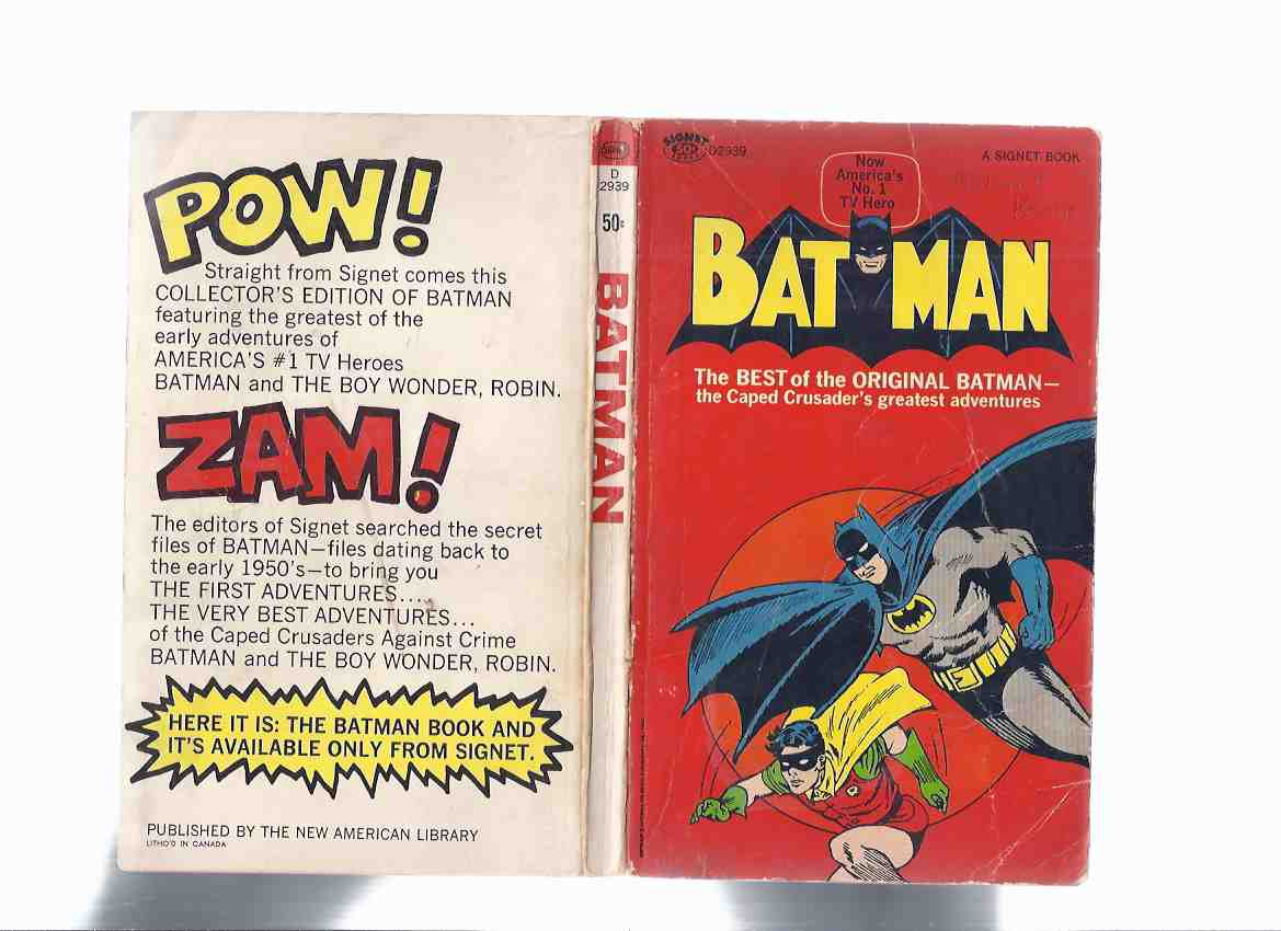 Image for Batman:  The Best of the Original Batman -the Caped Crusader's Greatest Adventures (inc:  The Legend of the Batman; Fan Mail of Danger; The Crazy Crime Clown [The Joker ]; The Crime Predictor; The Man Who Could Change Fingerprints; The Testing of Batman )