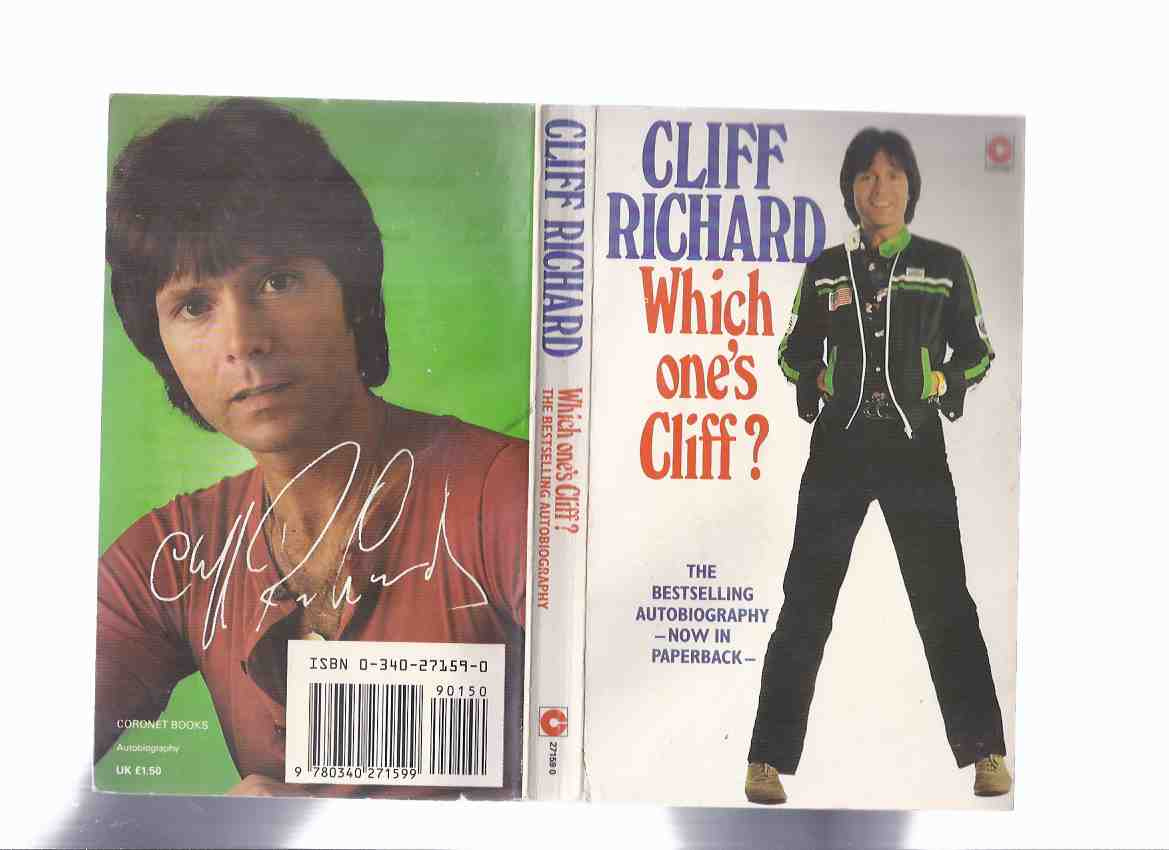 Image for Which One's Cliff:  The Autobiography of Cliff Richard