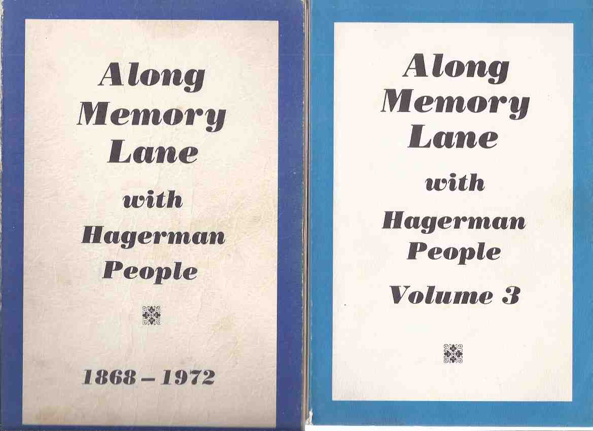 Image for Along Memory Lane with Hagerman People, 1868 - 1972 ( TWO BOOKS - Volume 1 and 3 )( Hagerman Township / Ontario Local History )