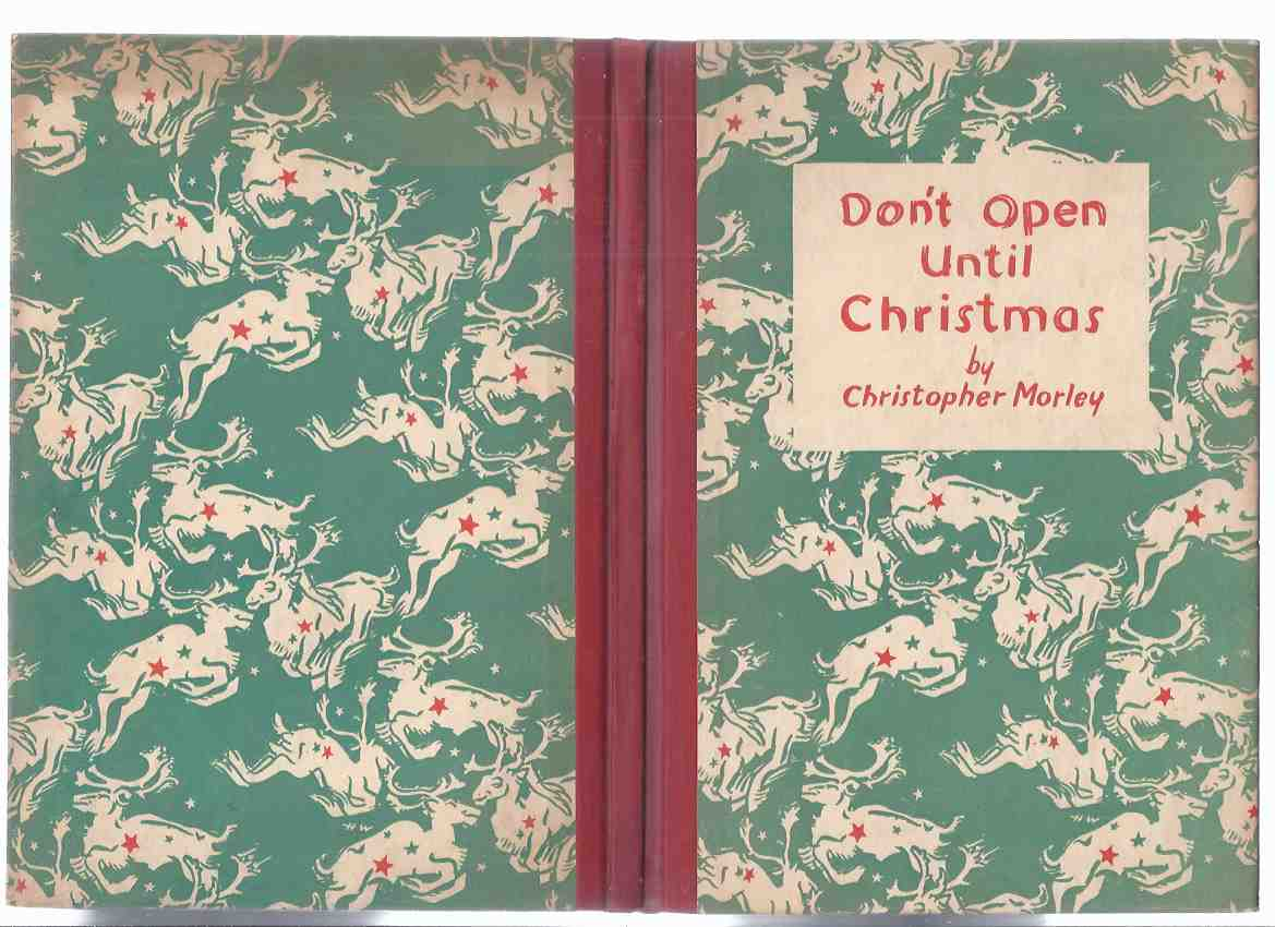Image for Don't Open Until Christmas -by Christopher Morley, Decorations By Howard Willard