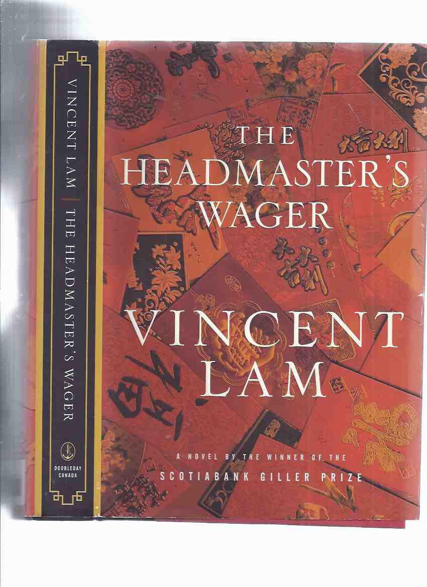 Image for The Headmaster's Wager -by Vincent Lam ---a Signed Copy