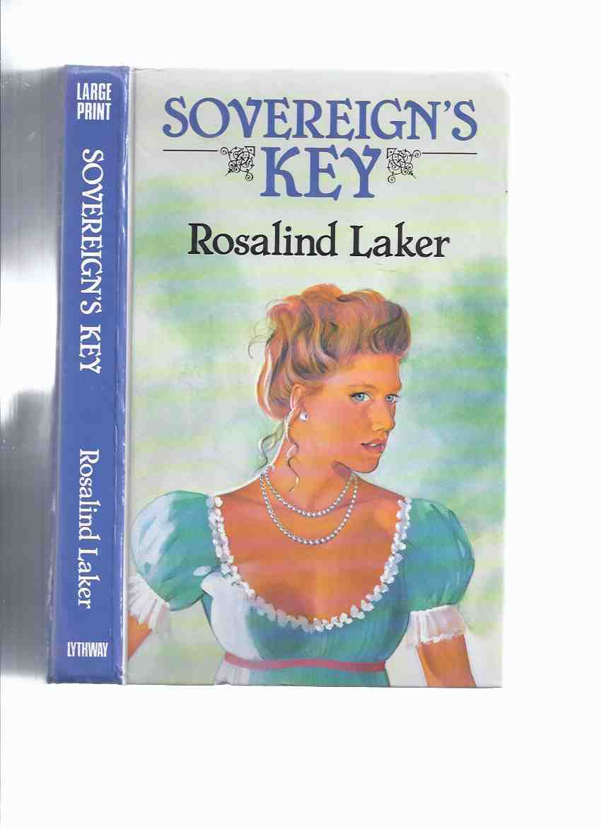 Image for Sovereign's Key ---by Rosalind Laker ( Large Print edition )