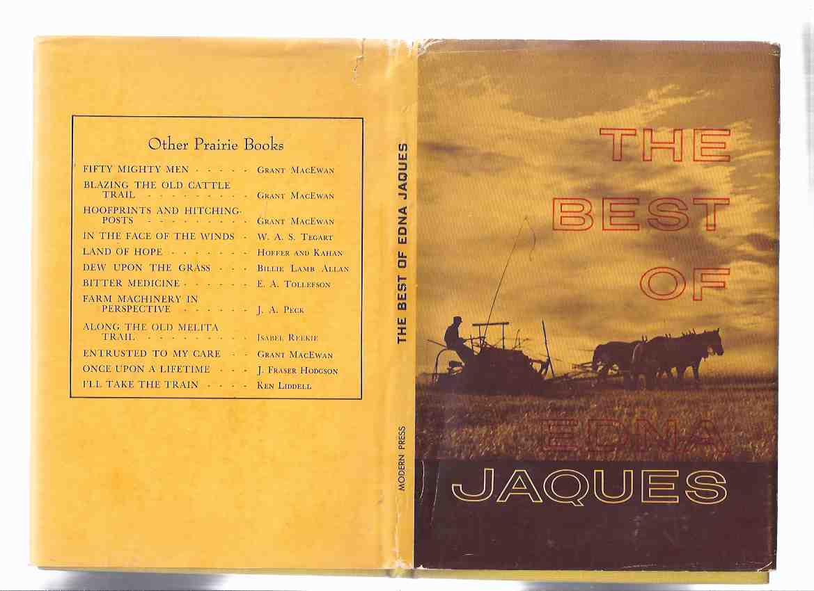 Image for The Best of Edna Jaques  ( Poetry / Poems )