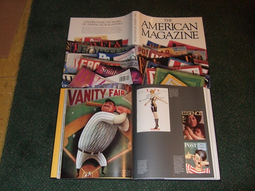 Image for The American Magazine / Harry N Abrams / Magazine Publishers of America / Society of Magazine Publishers ( History / Timeline )( Delineator; Jet; Ebony; Harper's; Vogue; Liberty; Glamour; TV Guide; Photoplay; New Yorker; True Story; Mad; Life etc)