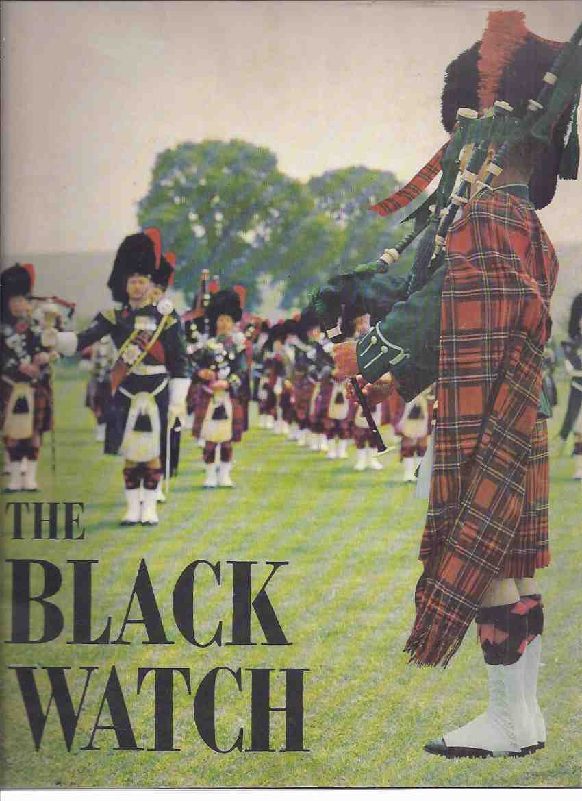 Image for The Pipes and Drums Regimental Band and Dancers of THE BLACK WATCH ( Royal Highland Regiment ) Souvenir Programme 1963 ( Program )