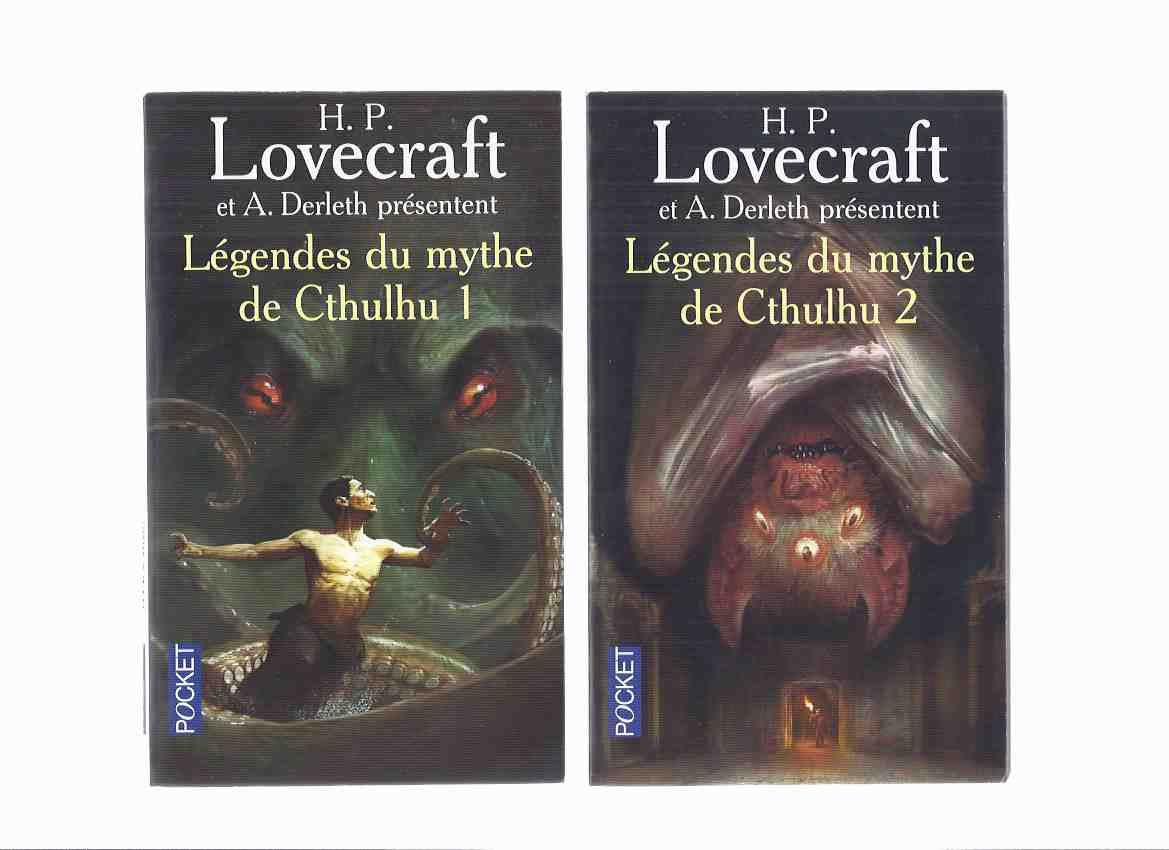 Image for Legendes Du Mythe De Cthulhu, Tome 1 & 2 -by H P Lovecraft and Others ( Two Volumes )( French Editions of Tales of the Cthulhu Mythos )