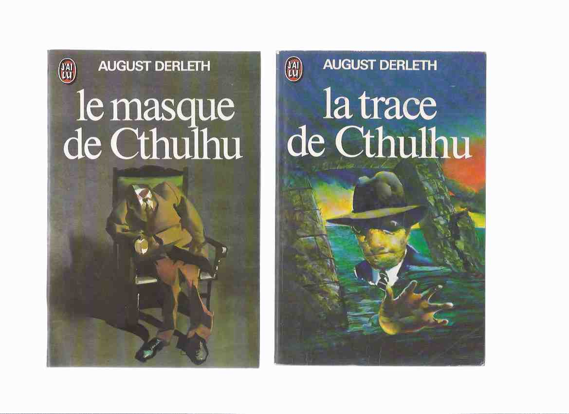 Image for Le Masque De Cthulhu ----avec La Trace De Cthulhu -by August Derleth -TWO VOLUMES( H P Lovecraft related) ( French Edition of The Trail /and/ Mask of Cthulhu )
