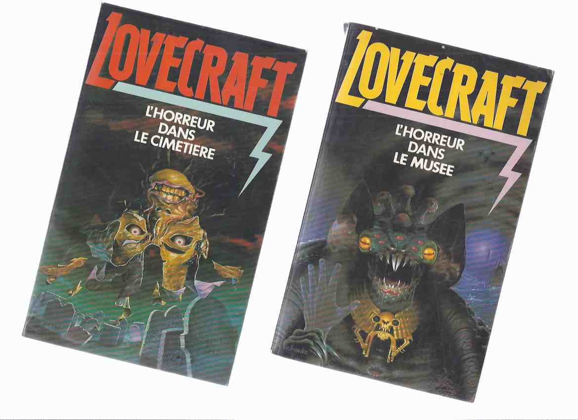 Image for L'Horreur Dans Le Musee ---avec L'Horreu Dals Le CIMETIERE - Tome 1 & 2 ( Two Volumes ) -by H P Lovecraft and Others ( French Edition of Horror in the Museum )