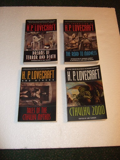 Image for FOUR VOLUMES: Dream Cycle of H P Lovecraft: Dreams of Terror and Death / Transition of HPL: Road to Madness / Tales of the Cthulhu Mythos / Cthulhu 2000