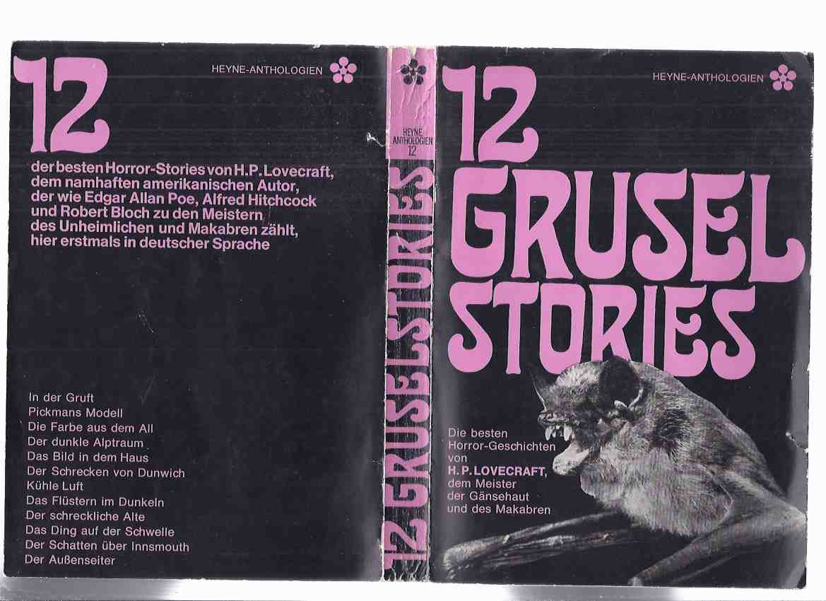 Image for 12 Grusel Stories -Die Besten Horror-Geschichten Von H P Lovecraft ( German edition) ( Zwölf )( Twelve )
