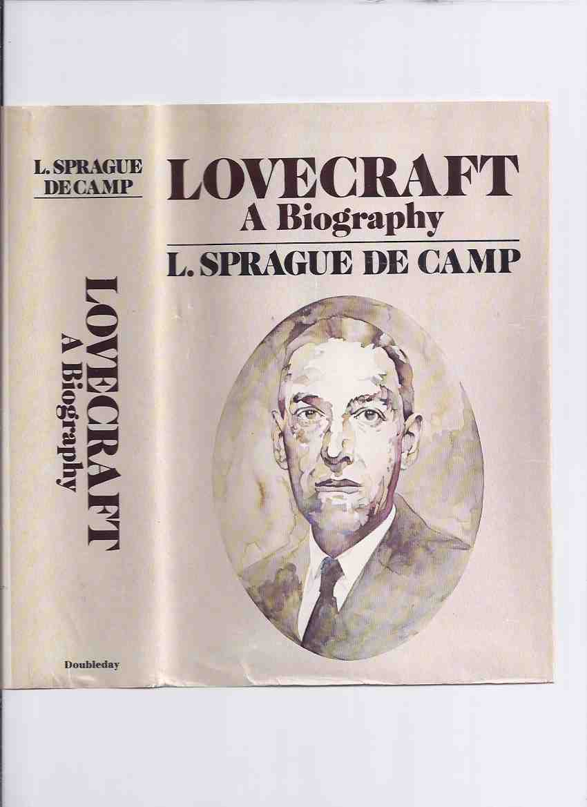 Image for Lovecraft: A Biography -by L Sprague de Camp -a Signed Copy   ( H.P. / Howard Phillips )