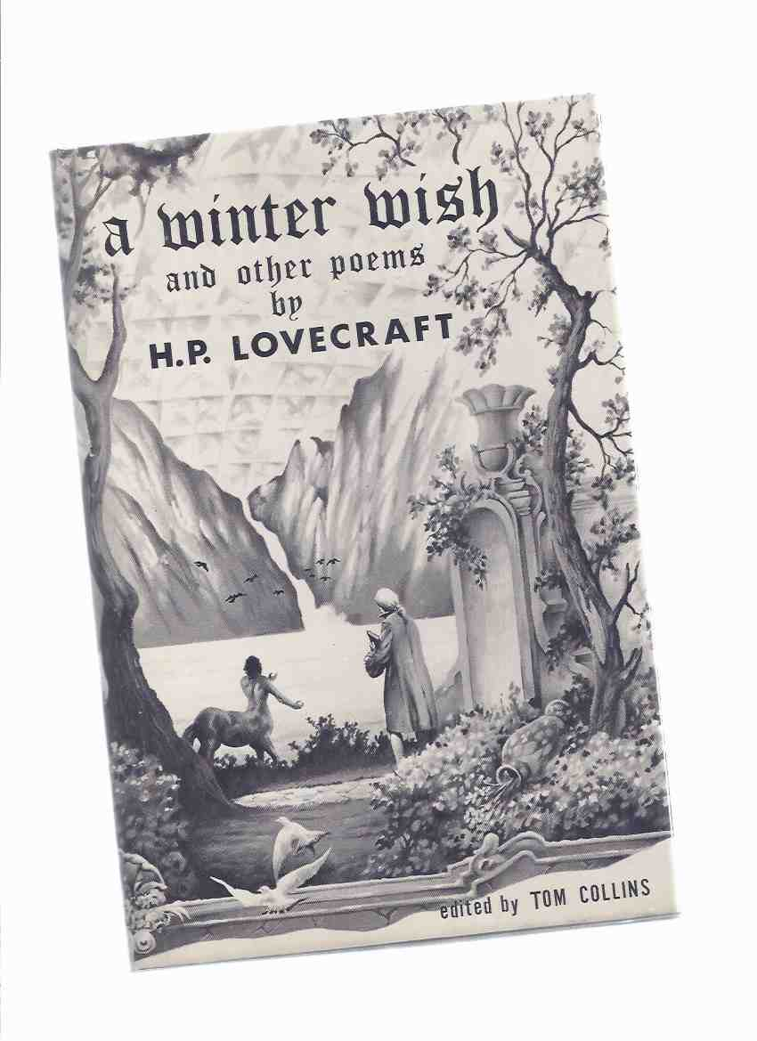 Image for A Winter Wish and Other Poems -by H P Lovecraft # 84 of 200 Signed and Numbered Copies / Whispers Press ( Slipcased / Boxed limited Edition )( Dustjacket Illustrated By Stephen E Fabian -signed)( Poetry )