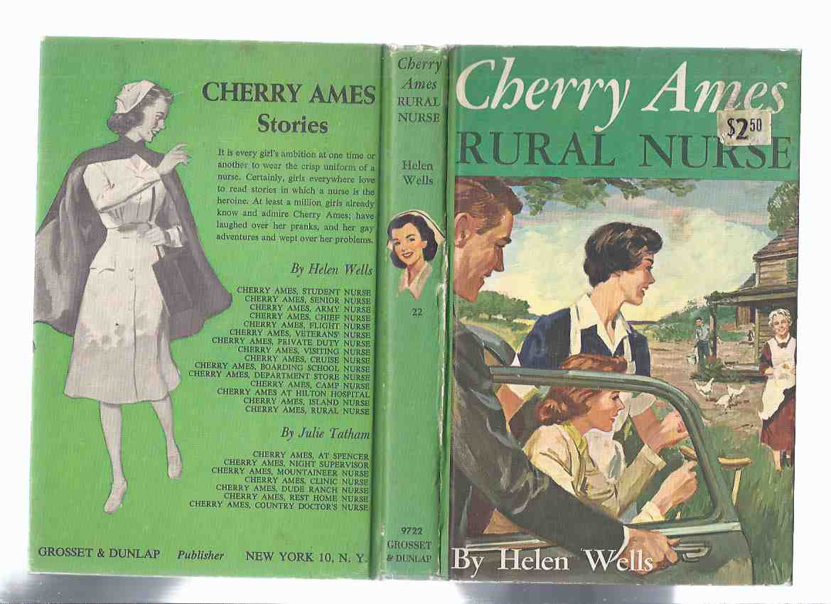 Image for Cherry Ames:  Rural Nurse  ---Book # 22