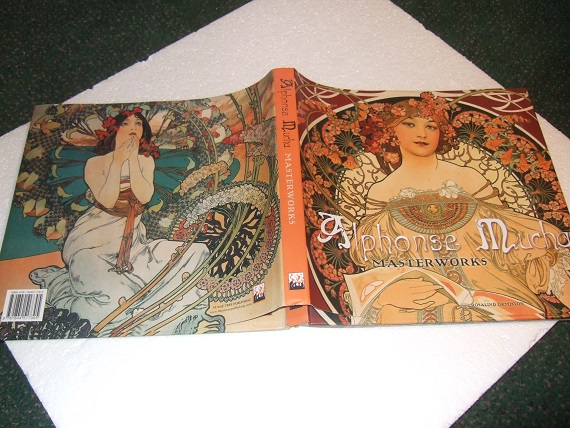 Image for Alphonse Mucha:  Masterworks Series ( Art Nouveau - Posters, Advertising, Artwork, etc )