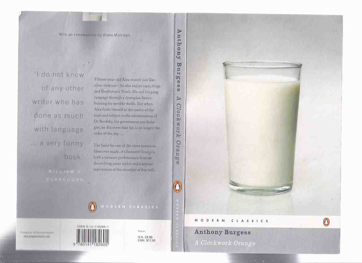 Image for A Clockwork Orange ---by Anthony Burgess --- Penguin Modern Classics  Series (includes the 7th Chapter  )
