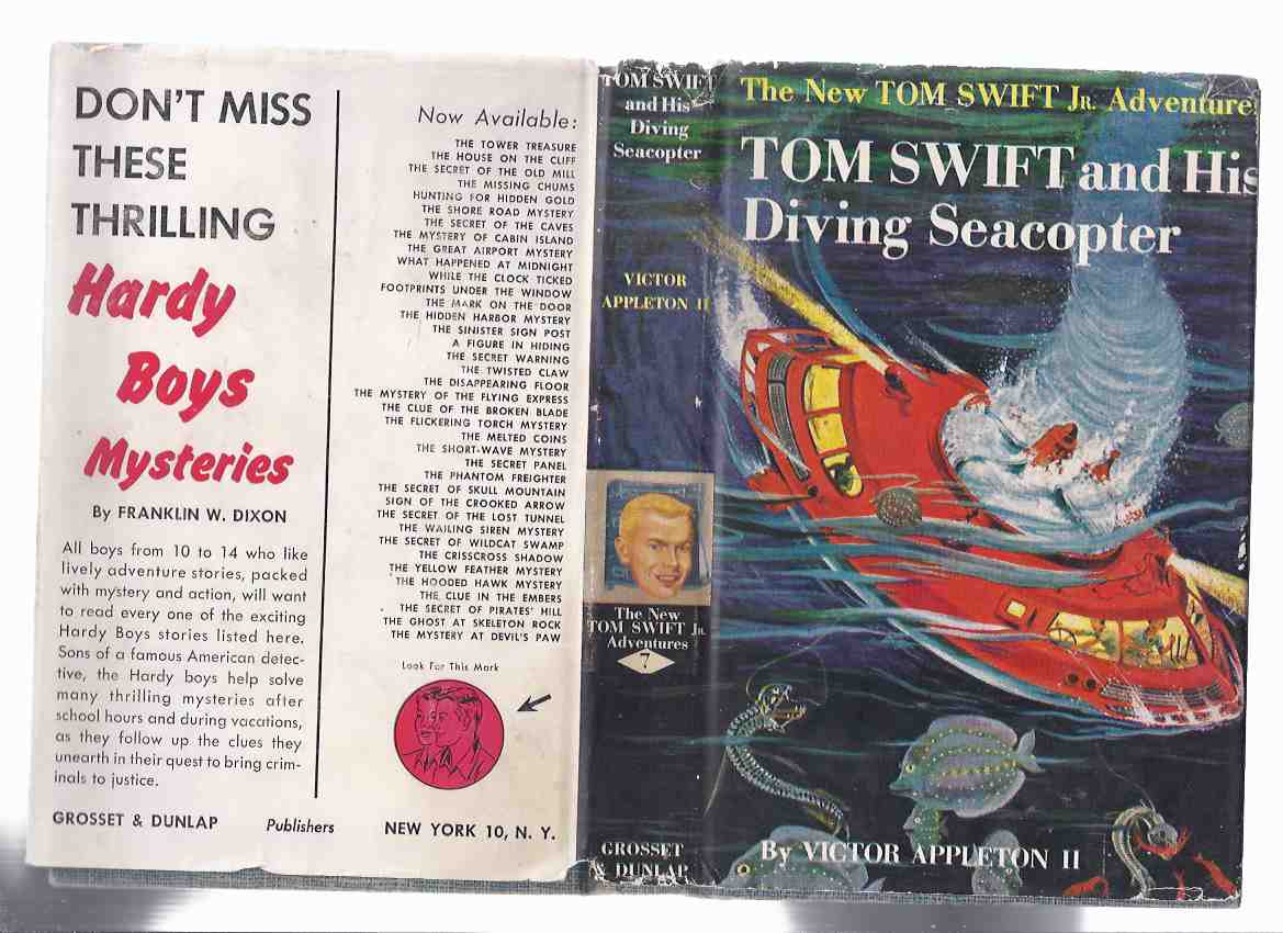 Image for The New Tom Swift Junior Adventures, Book No. 7: Tom Swift and His Diving Seacopter ( Volume Seven )